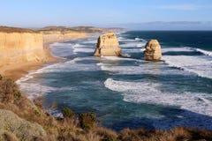 La grande strada dell'oceano - Australia Fotografia Stock Libera da Diritti