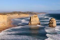 La grande strada dell'oceano - Australia Fotografia Stock