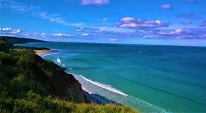La grande strada dell'oceano in Australia fotografia stock