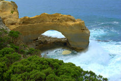 La grande strada dell'oceano dell'arco Fotografia Stock Libera da Diritti