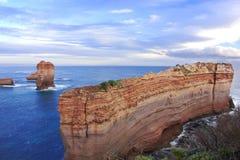 La grande strada dell'oceano, Melbourne fotografia stock libera da diritti