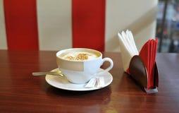 La grande tazza di caffè Fotografia Stock