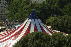La grande tente Photographie stock