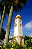 La grande torretta di orologio (ostruzione Besar di Menara) Immagine Stock
