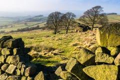 La grange le Staffordshire Moorlands le Staffordshire de gardons Photographie stock