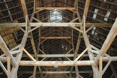 La grange rayonne la couleur latérale Photo libre de droits