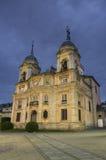 La Granja de圣・ Ildefonso皇宫在Segovia 免版税库存图片