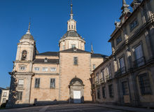 La Granja de圣・ Ildefonso皇宫 图库摄影