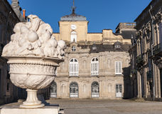 La Granja de圣・ Ildefonso皇宫 免版税库存照片