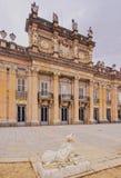 La Granja de San Ildefonso. Spain, Castile and Leon, Province of Segovia, San Ildefonso, View of the Royal Palace of La Granja de San Ildefonso Stock Images