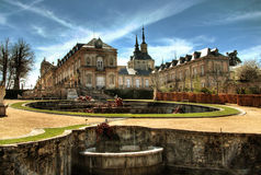 La Granja - historical spa near Madrid Royalty Free Stock Image