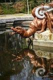 La Granja Quellen von Drachen Stockbild
