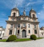 La Granja,. Real Sitio de San Ildefonso, La Granja, royal palace in Spain Stock Images
