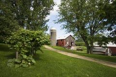 La granja vieja Fotos de archivo libres de regalías