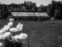 La granja vieja Foto de archivo
