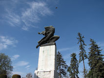 La gratitude envers le monument de Frances en Serbie, Belgrade Image libre de droits