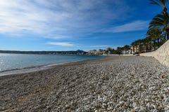 La Grava海滩 免版税库存图片