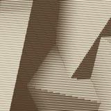 La gravure sur bois abstraite a dénommé le fond avec les cubes de intersection illustration de vecteur