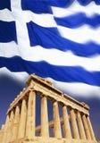 La Grèce - Acropole - Athènes - indicateur Photographie stock libre de droits