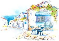 La Grecia illustrazione di stock