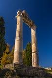 La Grecia antica, isola di Kos, agora antico (mercato) Fotografie Stock Libere da Diritti