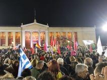 La Grecia Atene Immagini Stock Libere da Diritti