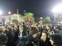 La Grecia Atene Fotografia Stock