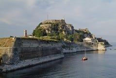La Grecia, Corfù Immagine Stock