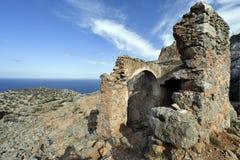 La Grecia, Creta, penisola di Akrotiri immagine stock libera da diritti