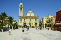 La Grecia, Crete Fotografia Stock Libera da Diritti