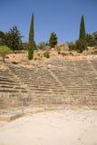 La Grecia. Delfi. Teatro Fotografie Stock Libere da Diritti