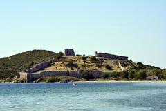 La Grecia, Eastmacedonia, Kavala Fotografia Stock Libera da Diritti
