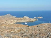 La Grecia, isola di Rodi Fotografia Stock Libera da Diritti