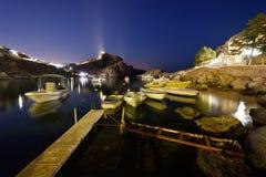 La Grecia, isola di Rodi Fotografia Stock