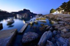 La Grecia, isola di Rodi Immagini Stock Libere da Diritti