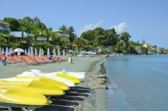 La Grecia, isola di Zacinto fotografia stock