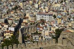 La Grecia, Kavala Immagine Stock Libera da Diritti