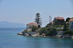 La Grecia - Kefalonia Fotografie Stock Libere da Diritti