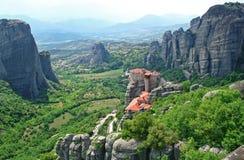 La Grecia. Meteora Fotografia Stock Libera da Diritti