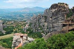 La Grecia Meteora Fotografia Stock Libera da Diritti