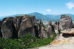 La Grecia Meteora Immagine Stock Libera da Diritti