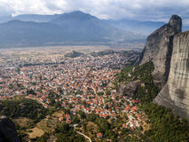La Grecia, Meteora fotografie stock
