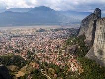 La Grecia, Meteora immagine stock