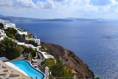 La Grecia, Santorini, OIA Fotografia Stock Libera da Diritti