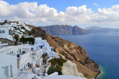 La Grecia, Santorini, OIA Fotografia Stock