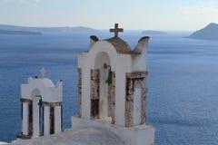 La Grecia, Santorini, OIA Fotografie Stock Libere da Diritti