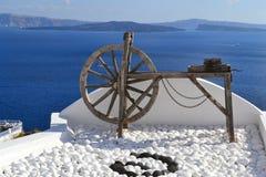 La Grecia, Santorini, OIA Immagine Stock