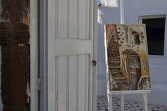 La Grecia, Santorini, OIA Immagine Stock Libera da Diritti