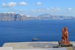 La Grecia, Santorini, OIA Immagini Stock Libere da Diritti