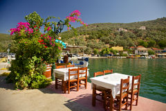 La Grecia tipica Fotografie Stock Libere da Diritti